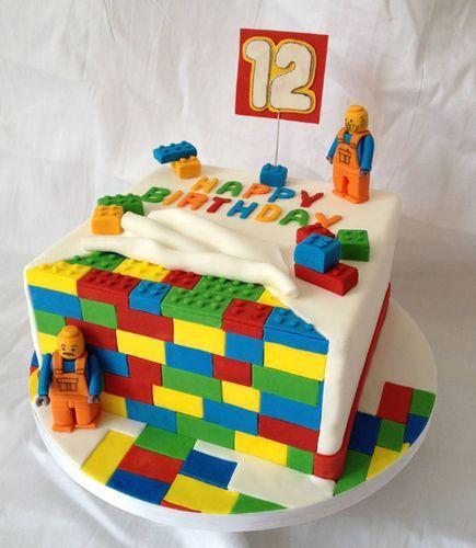 87db40ffc Заказать детский торт лего без мастики, торт в виде лего в ...