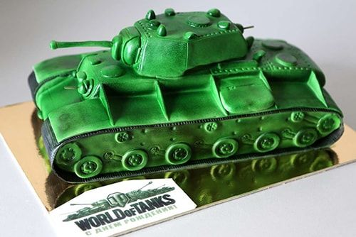 Торт World of Tanks - a817