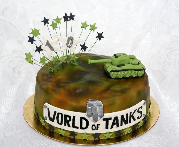 Открытки на день рождения в виде танков