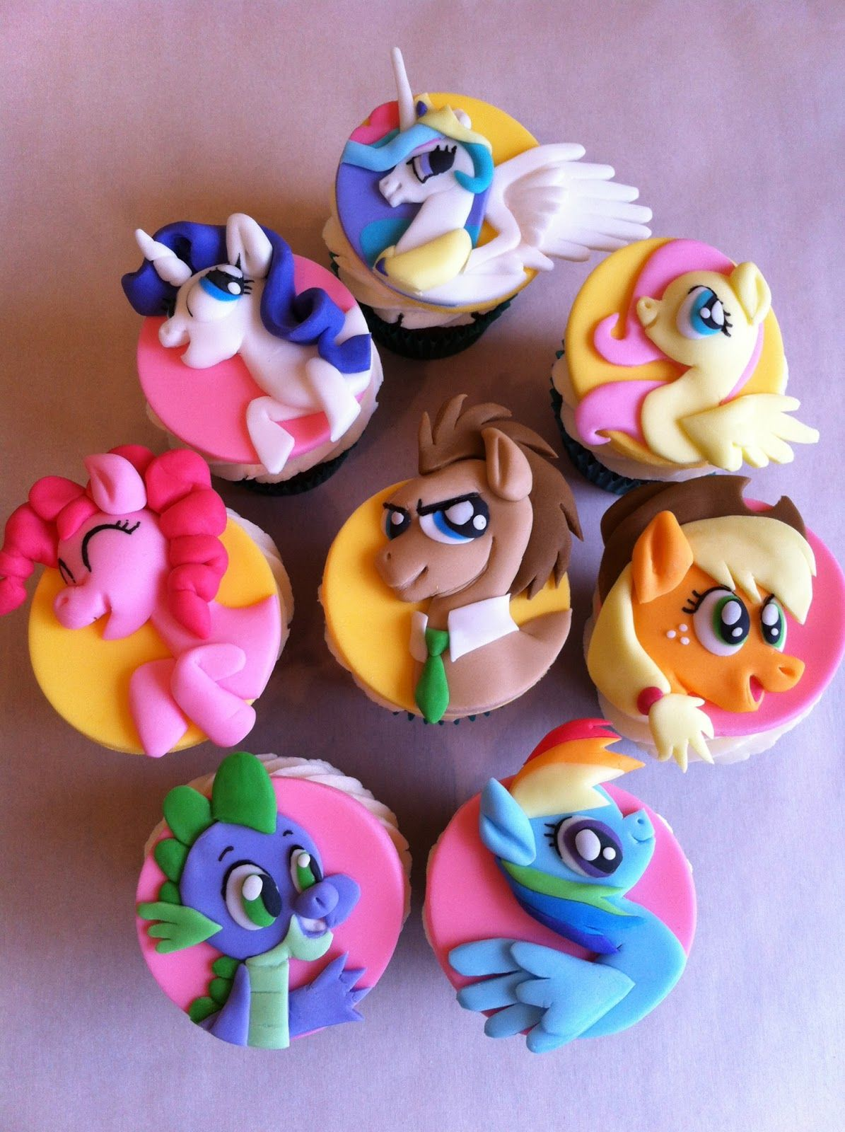 Капкейки My Little Pony - a1436