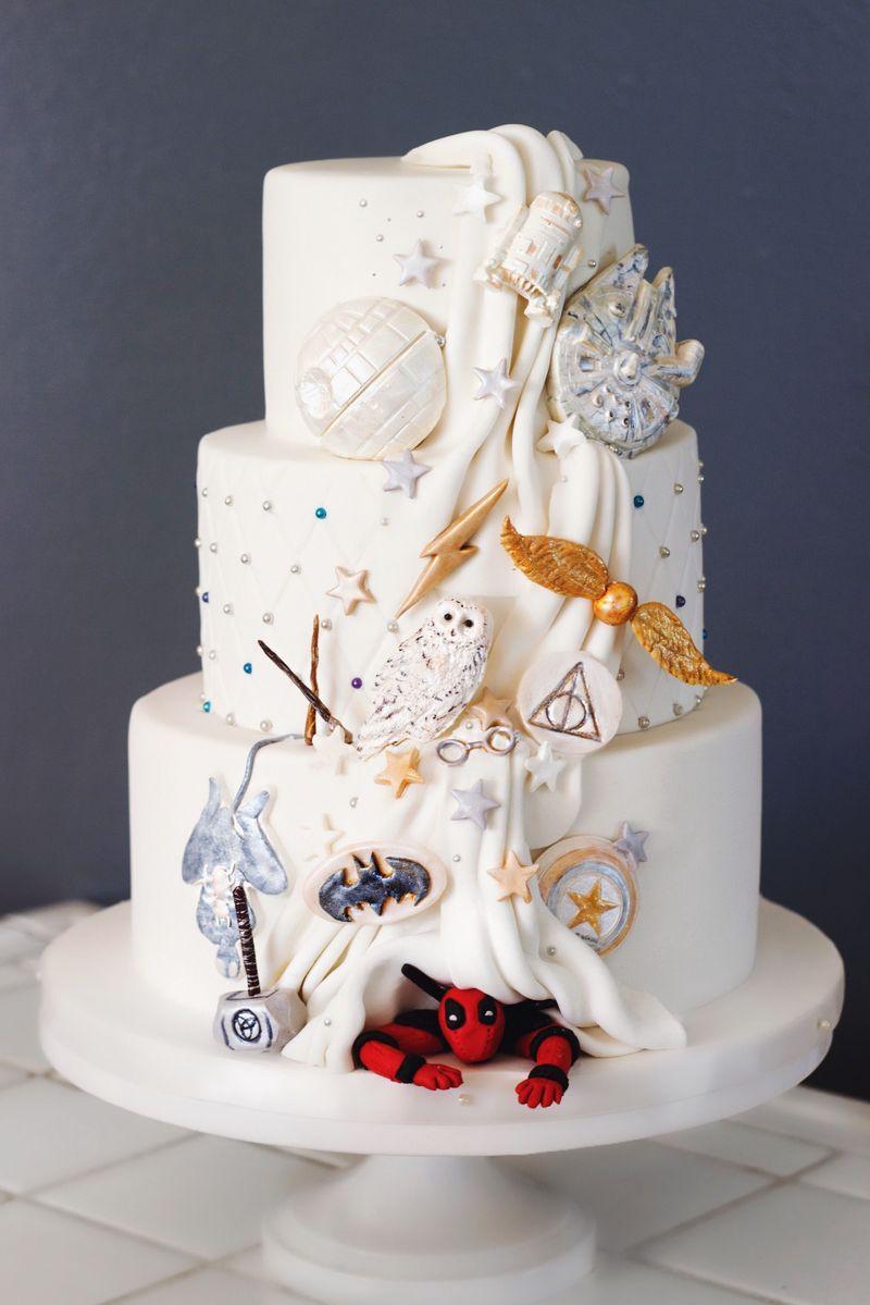 веселый свадебный торт фото пломба однородная получилась