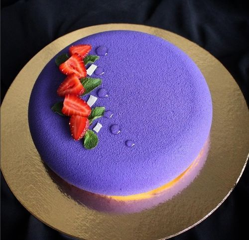 Велюр для торта в домашних условиях 827